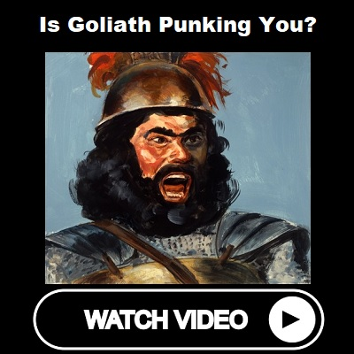 Is Goliath Punking You
